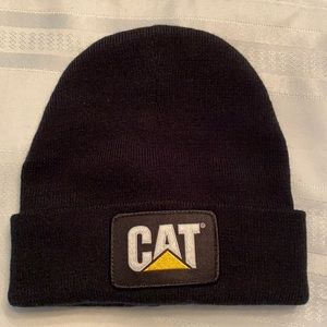 NWOT Caterpillar Trademark Cuff Beanie